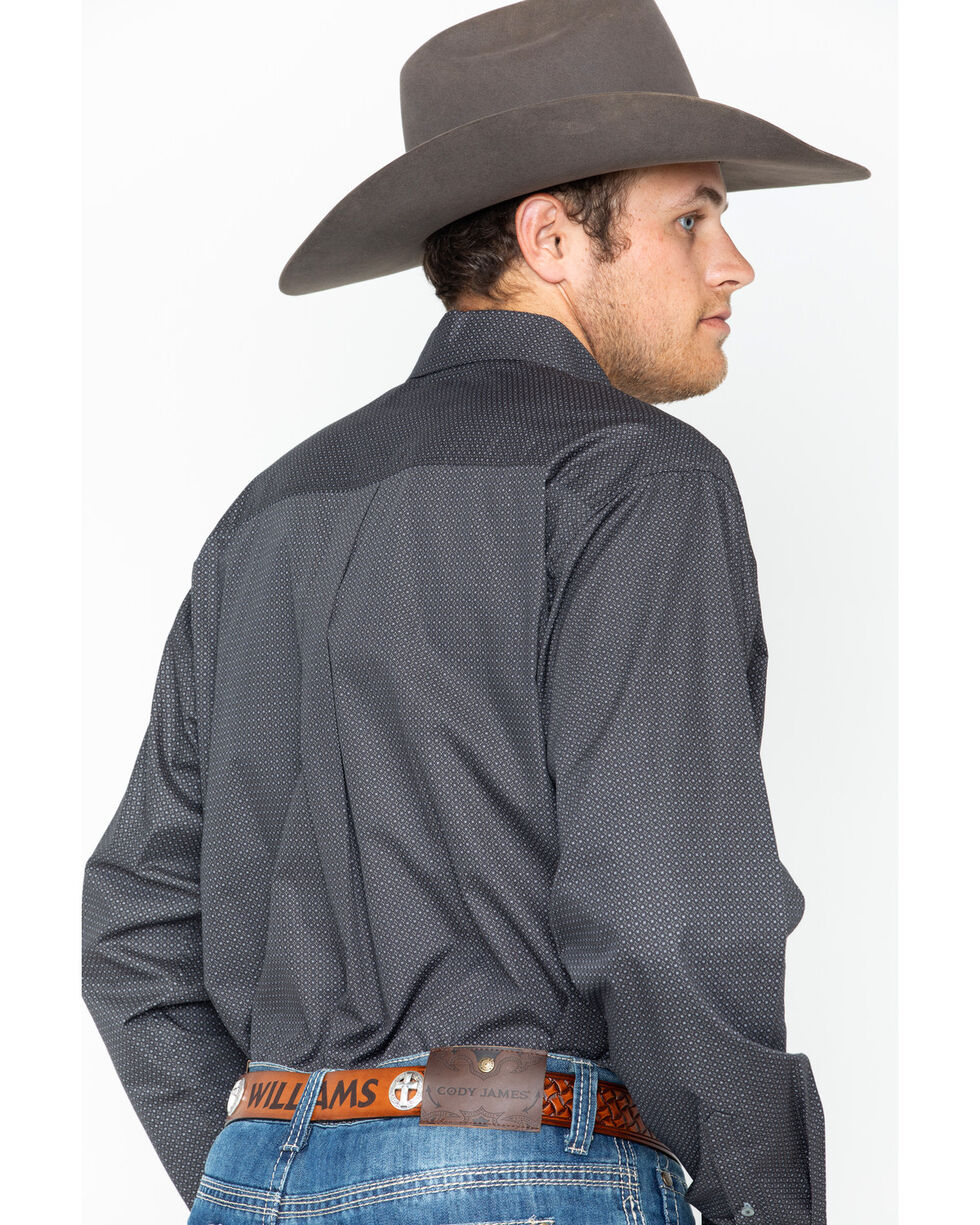 Cinch Men's Woven Long Sleeve Western Shirt , , hi-res