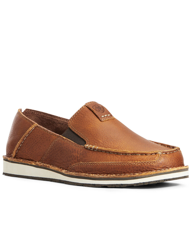 Ariat Men's Butterscotch Cruiser Shoes, Cognac, hi-res