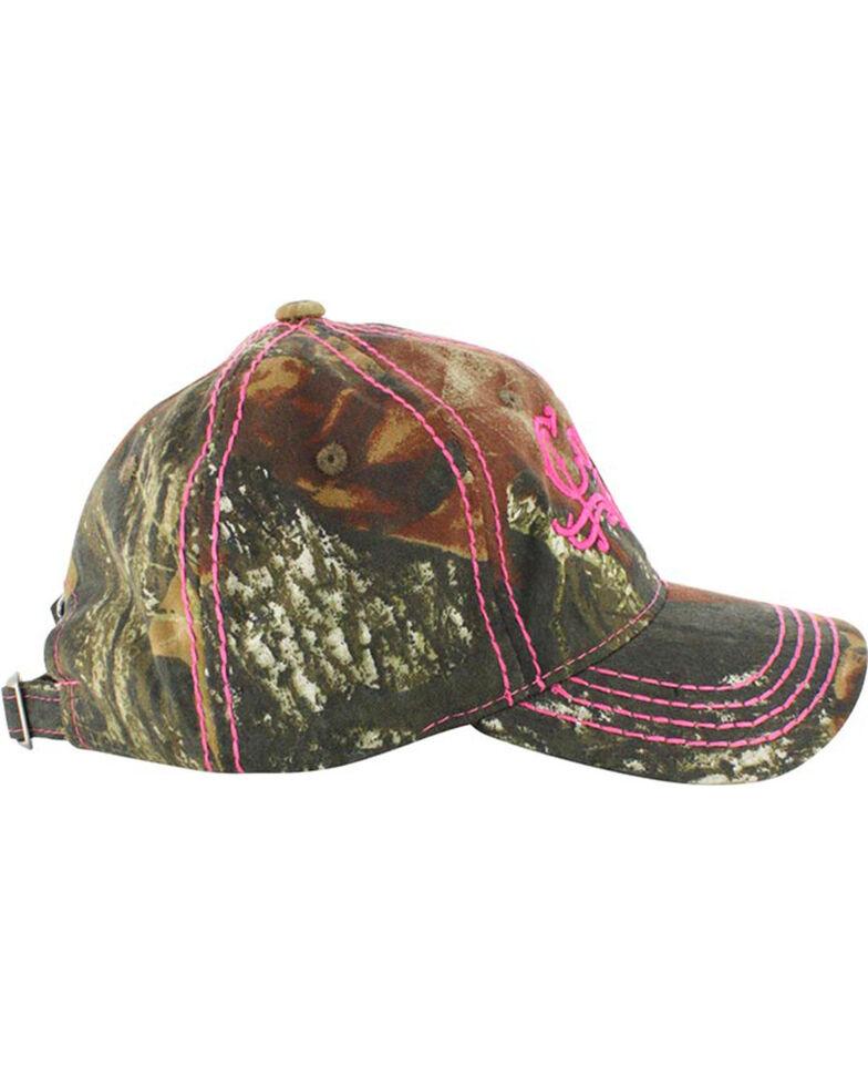 Cowgirl Up Women s Mossy Oak Ball Cap  fa53c46678c