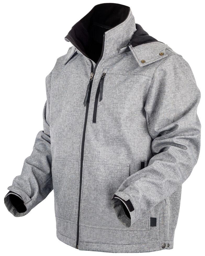 STS Ranchwear Boys' Grey Youth Barrier Softshell Jacket , Heather Grey, hi-res