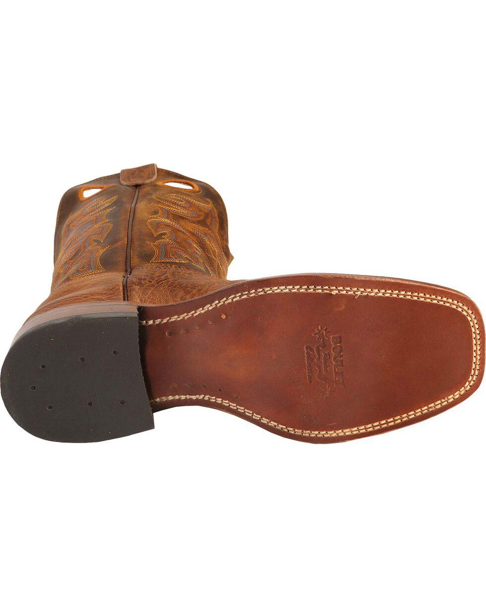 "Boulet Men's 13"" Wide Square Toe Stockman Boots, Crazyhorse, hi-res"