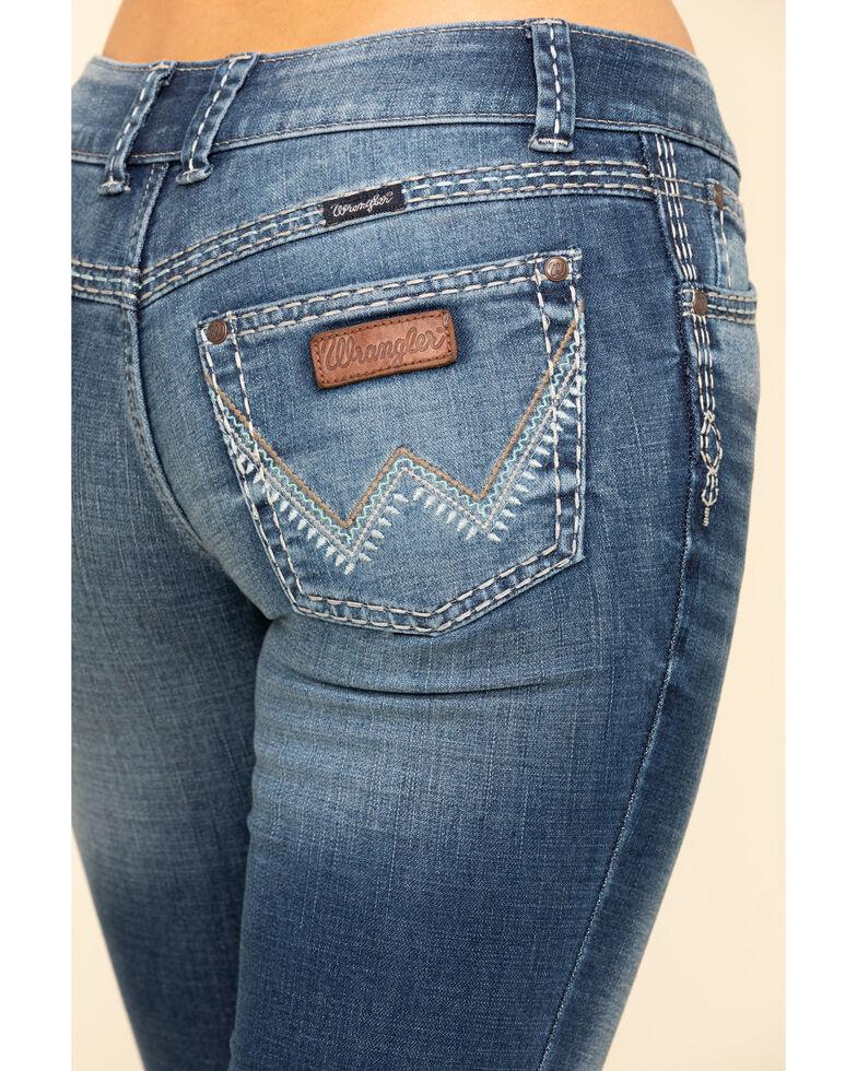 Wrangler Retro Women's Sadie Bootcut Janet Jeans  , Blue, hi-res