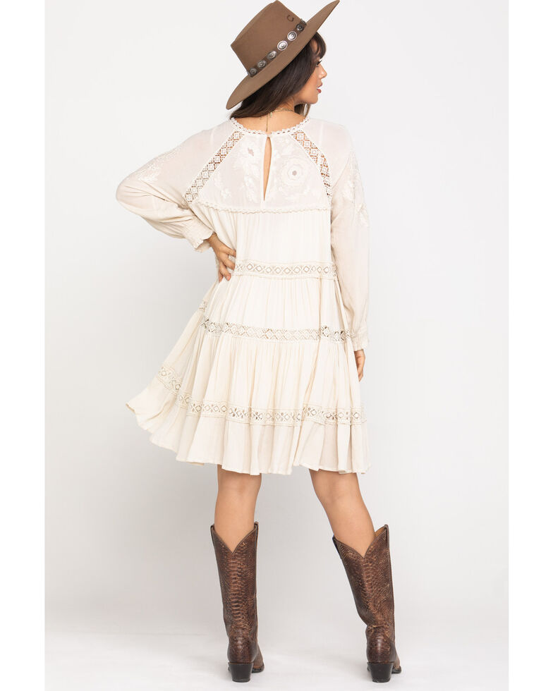 Free People Women's Piece Of Your Heart Mini Dress, Ivory, hi-res