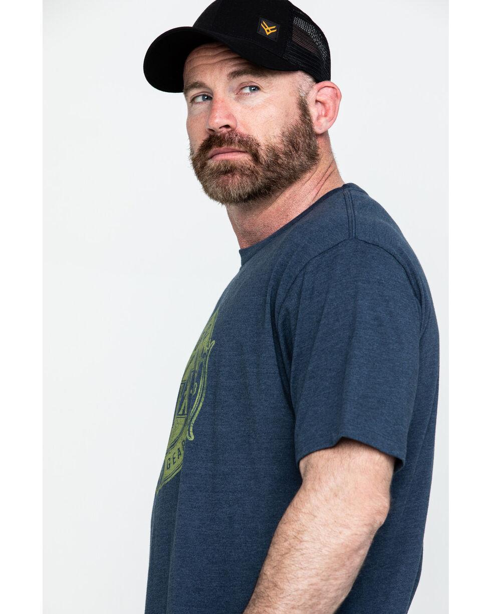 Hawx® Men's Forged Tough Graphic Work T-Shirt , Navy, hi-res