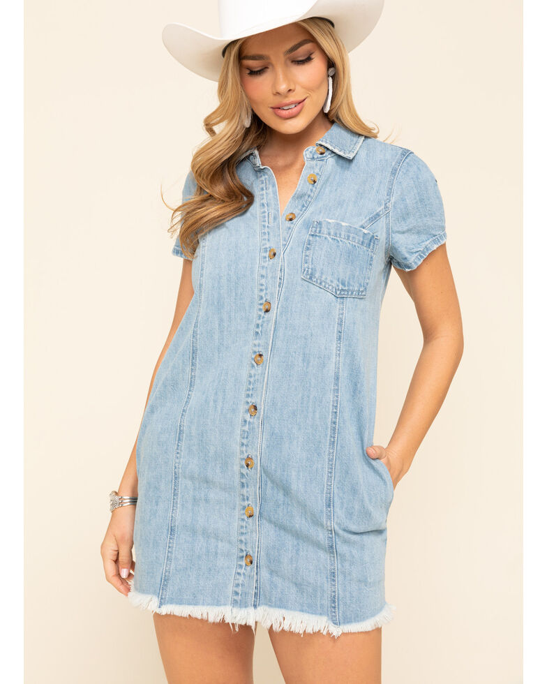 Show Me Your Mumu Women's Cyrus Mini Dress, Blue, hi-res