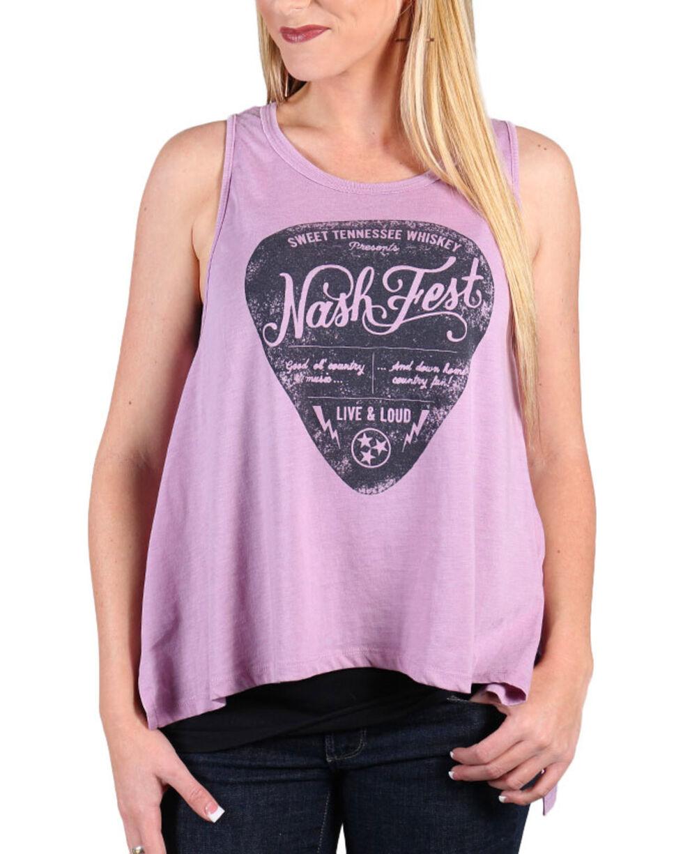 I.O.C. Women's Nash Fest  Muscle Tank , Lavender, hi-res