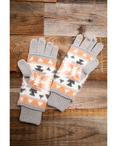 Idyllwind Women's Cozytown Aztec Gloves, Multi, hi-res