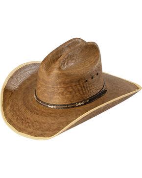 Jason Aldean Passing Through Palm Leaf Cowboy Hat, Natural, hi-res