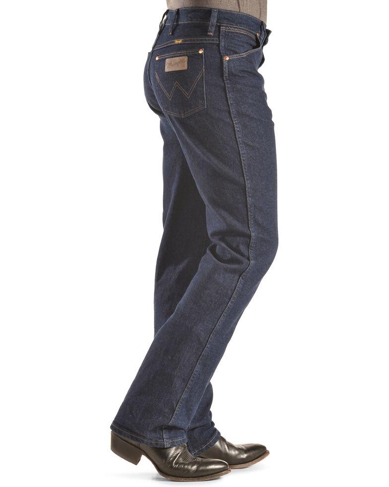 Wrangler Men's Cowboy Cut Slim Fit Stretch Jeans, Indigo, hi-res