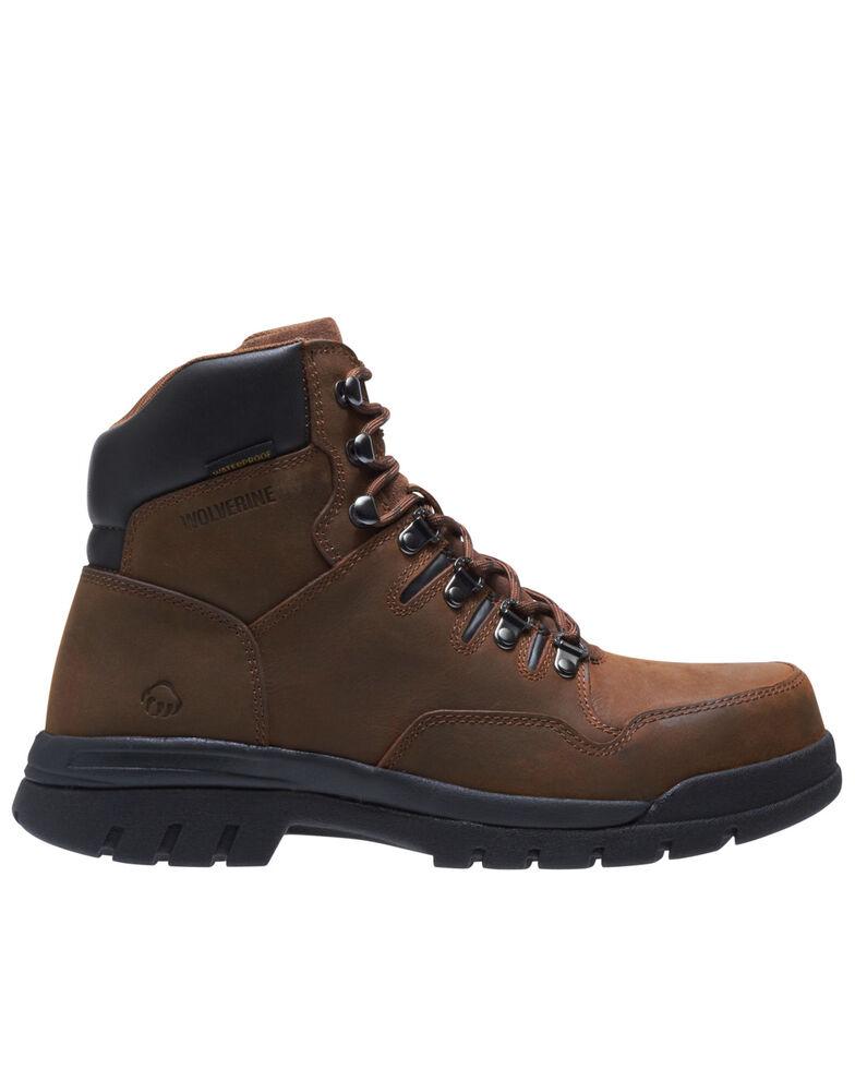 Wolverine Men's Potomac Waterproof Work Boots - Steel Toe, Brown, hi-res