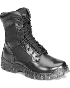 Rocky Men's Alpha Force Duty Boots, Black, hi-res
