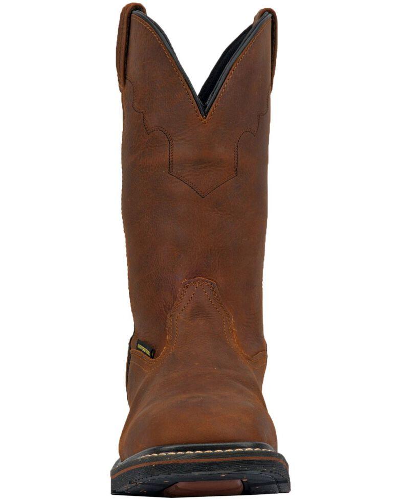 Dan Post Men's Lubbock Waterproof Western Work Boots - Wide Square Toe, , hi-res