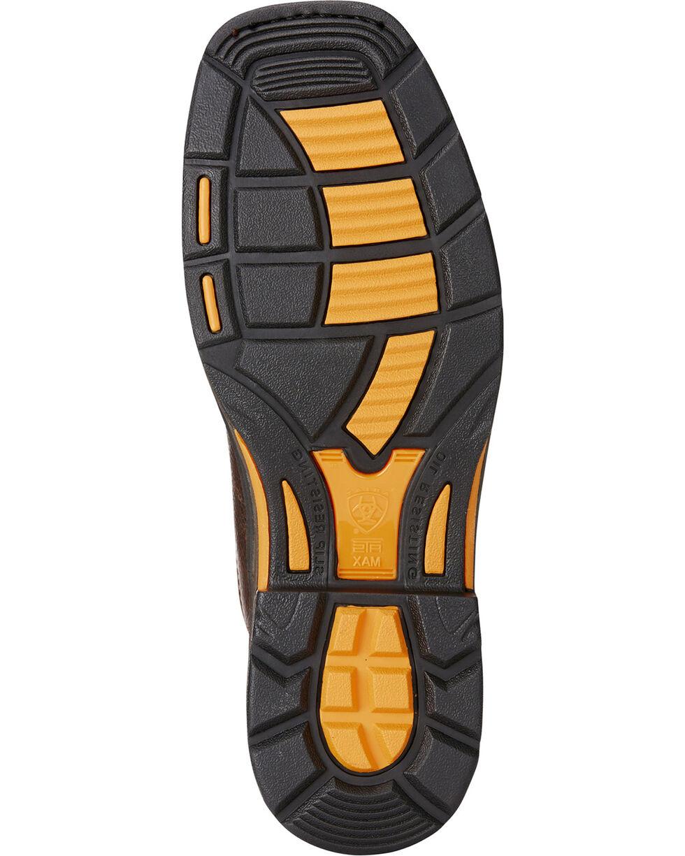 Ariat Men's Brown Workhog VentTek Matrix Boots - Square Toe , Brown, hi-res