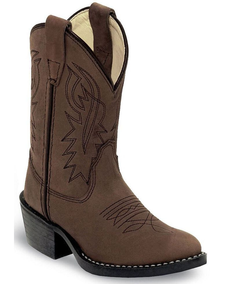 Cody James® Kid's Western Boots, Distressed, hi-res