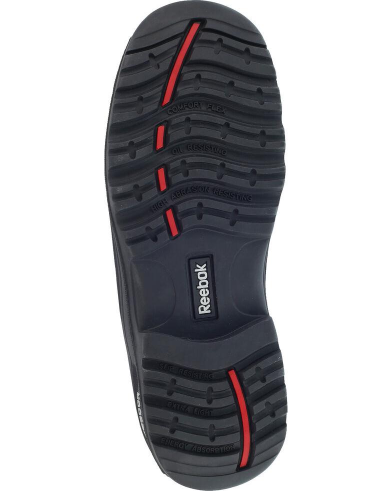 "Reebok Men's Trainex 6"" Lace-Up Waterproof Work Boots - Composite Toe, Black, hi-res"