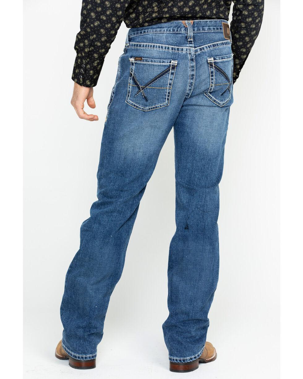 Ariat Men's M5 Powell Fargo Boot Jeans , Indigo, hi-res