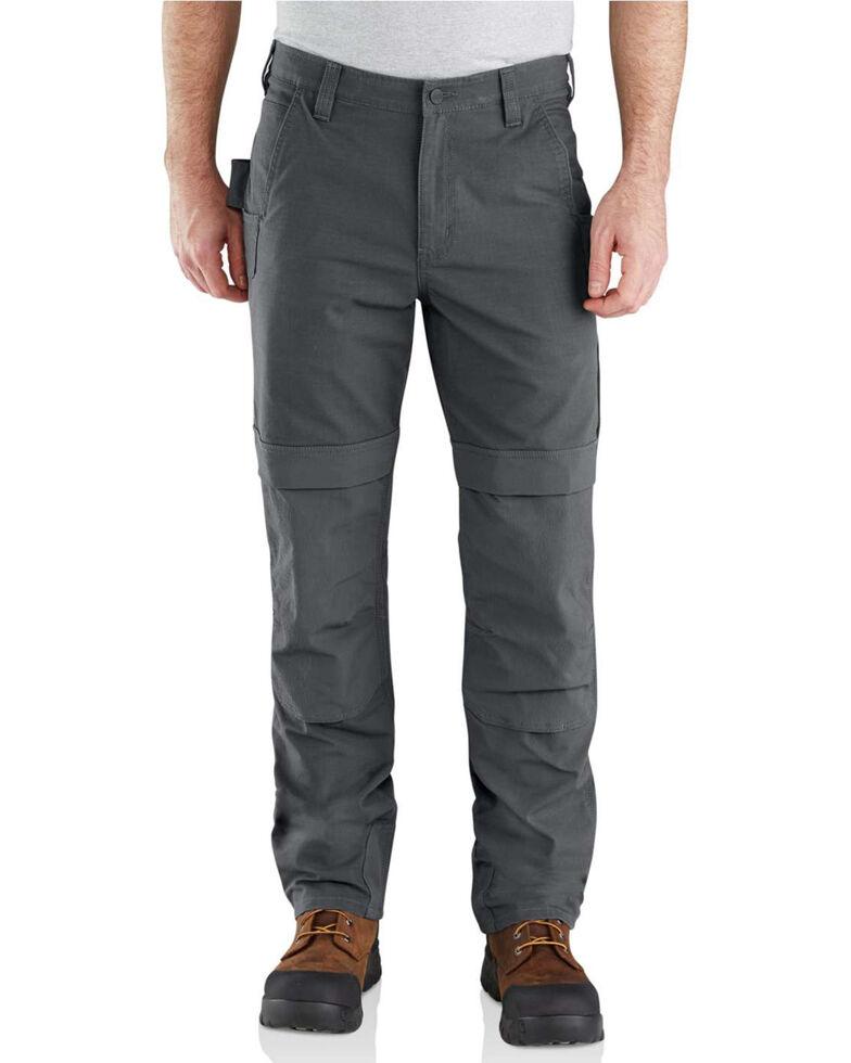Carhartt Men's Rugged Flex Steel Multi Pocket Work Pants , Grey, hi-res