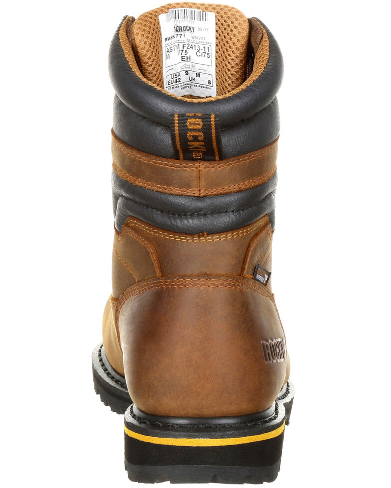 ad12dc343dc Rocky Men's Governor Waterproof 8