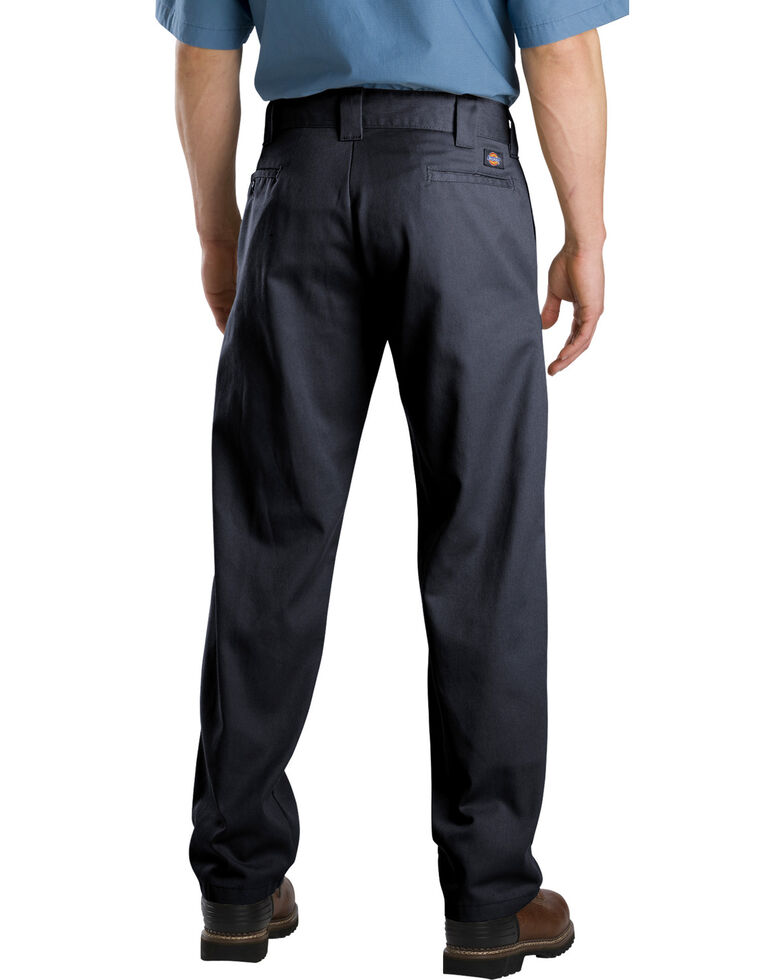 Dickies Slim Fit Straight Leg Work Pants, Black, hi-res
