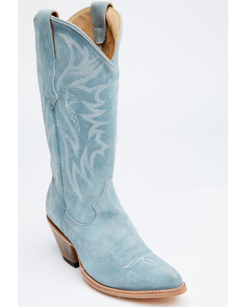 Idyllwind Women's Charmed Life Western Boots - Round Toe, Blue, hi-res