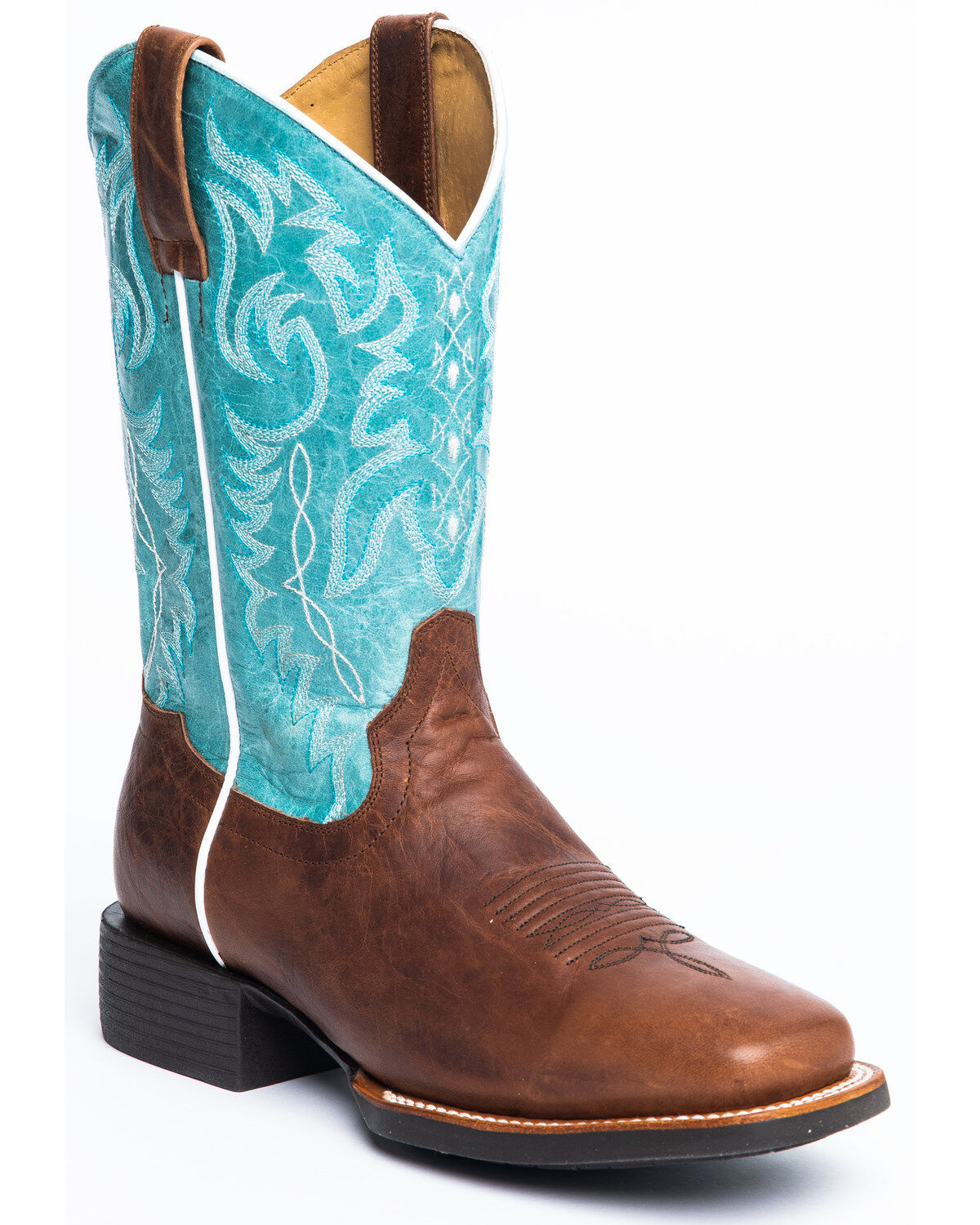 Women's Wide Square Toe Boots - Boot Barn