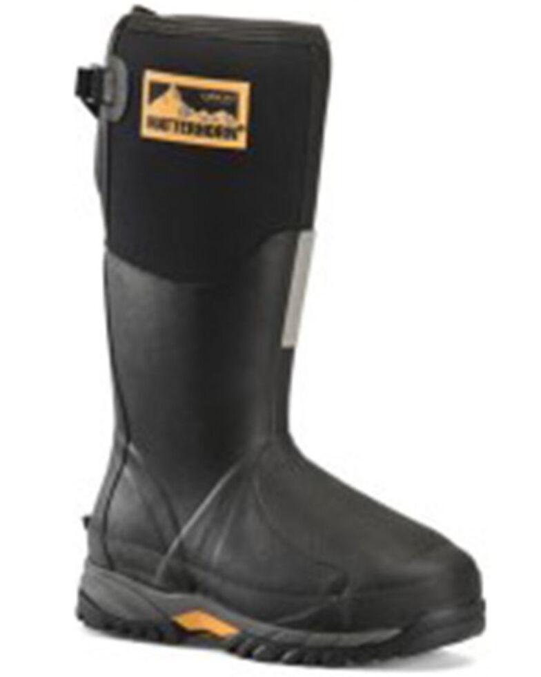 Carolina Men's Met Guard Puncture Resisting Western Work Boots - Steel Toe, Black, hi-res