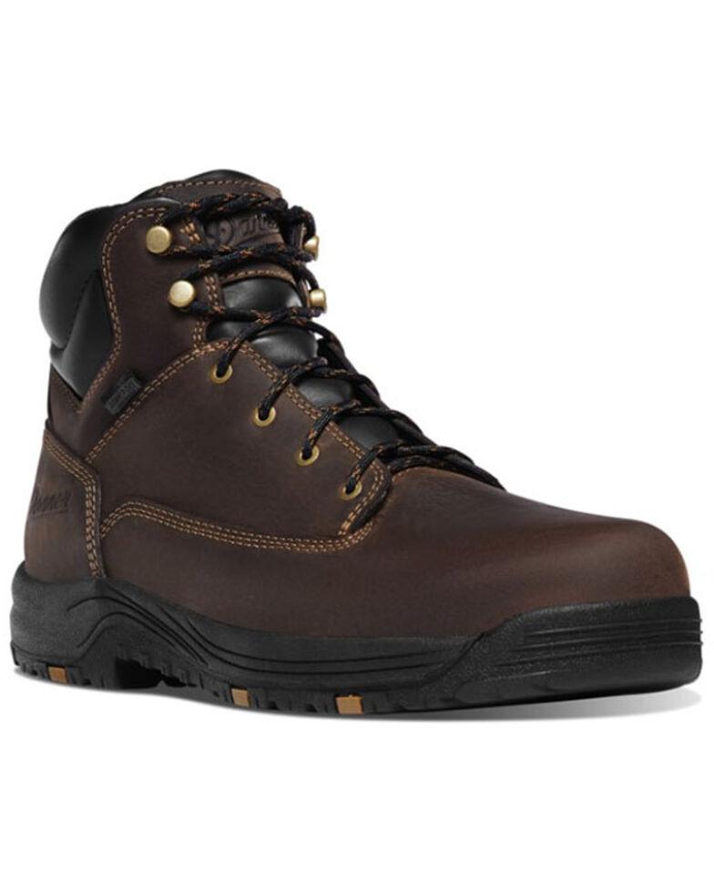 Danner Men's Caliper Waterproof Work Boots - Soft Toe, Brown, hi-res