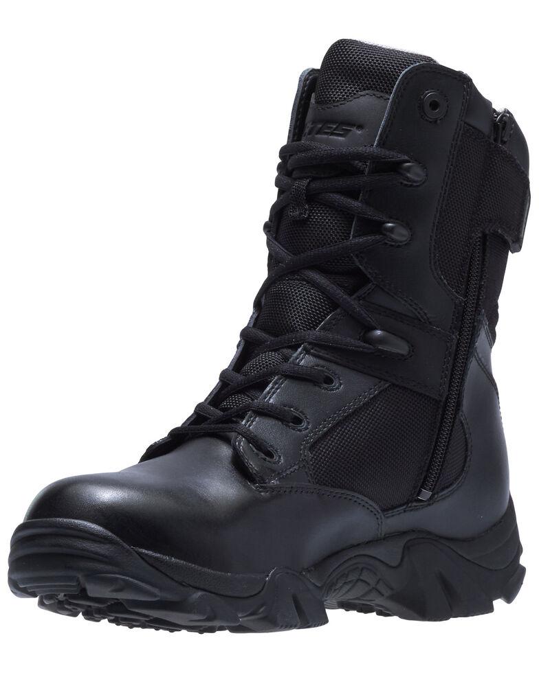 Bates Men's GX-8 Waterproof Work Boots - Soft Toe, Black, hi-res