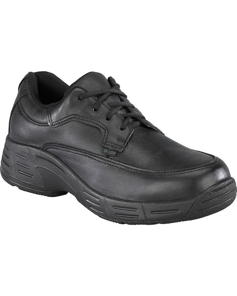 Florsheim Men's Postal Oxford Shoes - USPS Approved, Black, hi-res