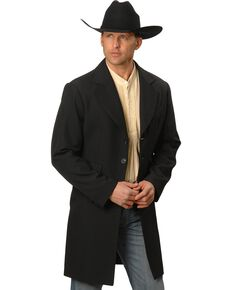 Scully Men's Original Frock Coat, Black, hi-res