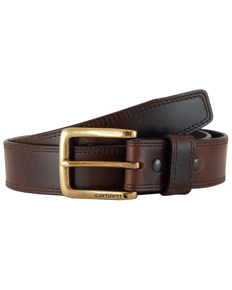 Carhartt Men's Brown Hamilton Work Belt, Brown, hi-res