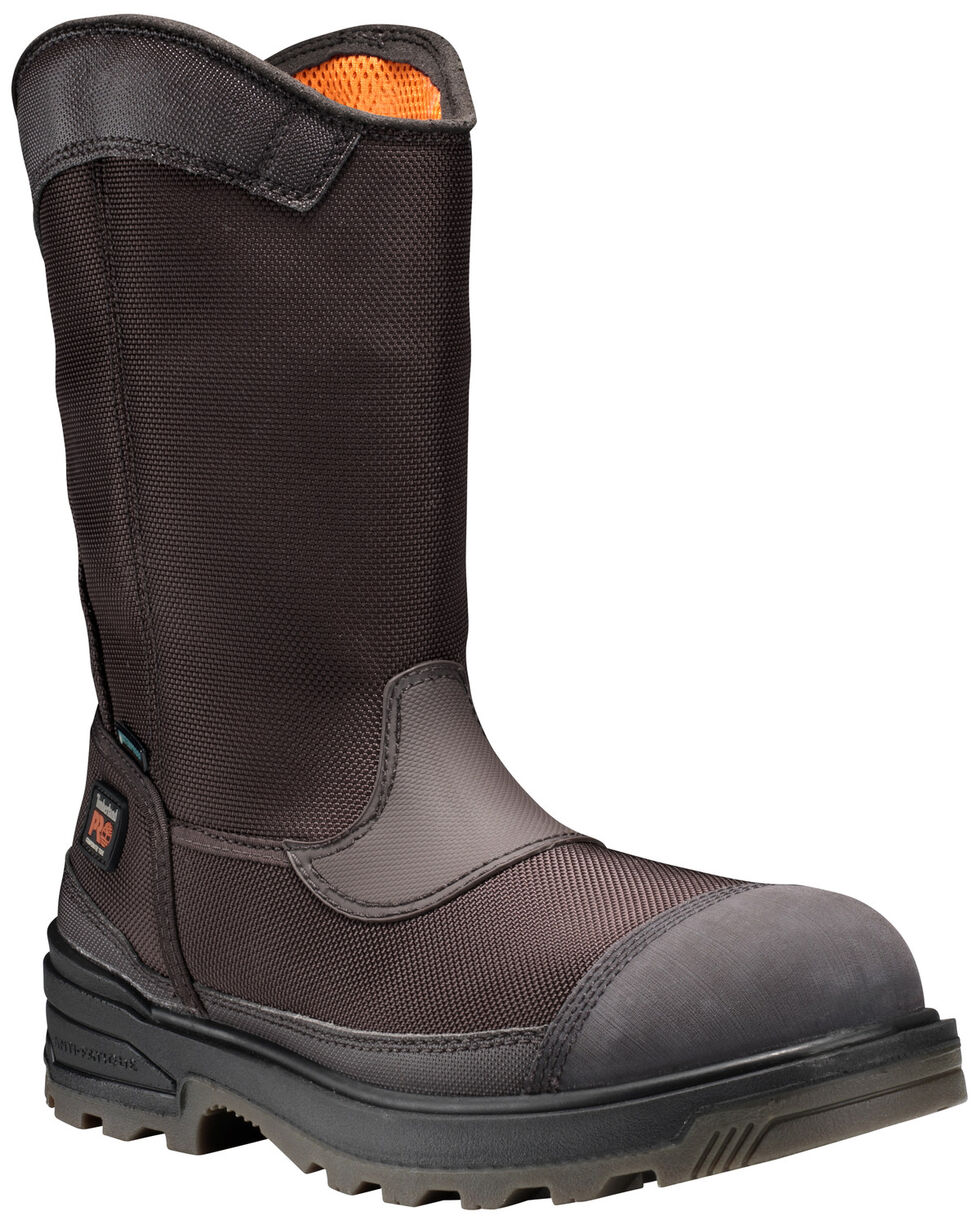 Timberland Men's Mortar Waterproof Work Boots, Brown, hi-res