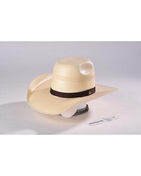 Hooey by Resistol Men's Natural Taos Straw Cowboy Hat , Natural, hi-res