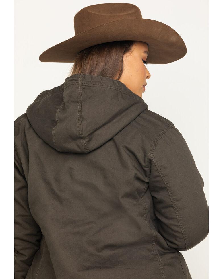 Ariat Women's R.E.A.L. Banyan Bark Outlaw Jacket - Plus, Brown, hi-res
