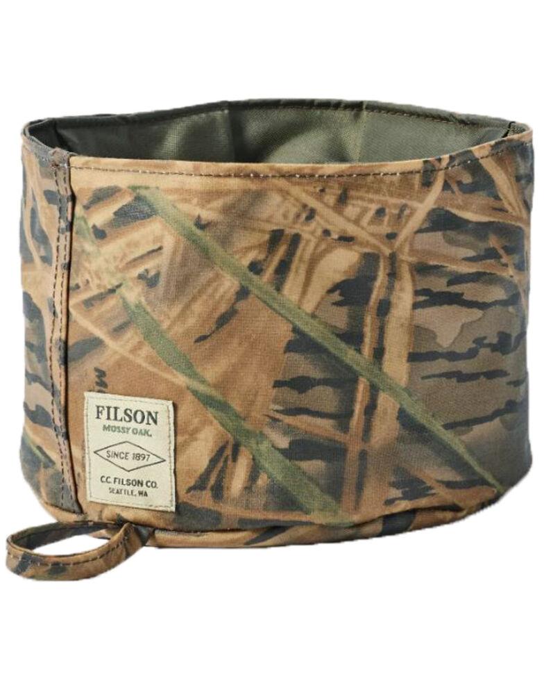 Filson Mossy Oak Camo Dog Bowl, Camouflage, hi-res
