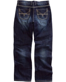 Tin Haul Men's Regular Joe Fit Bootcut Jeans, Blue, hi-res
