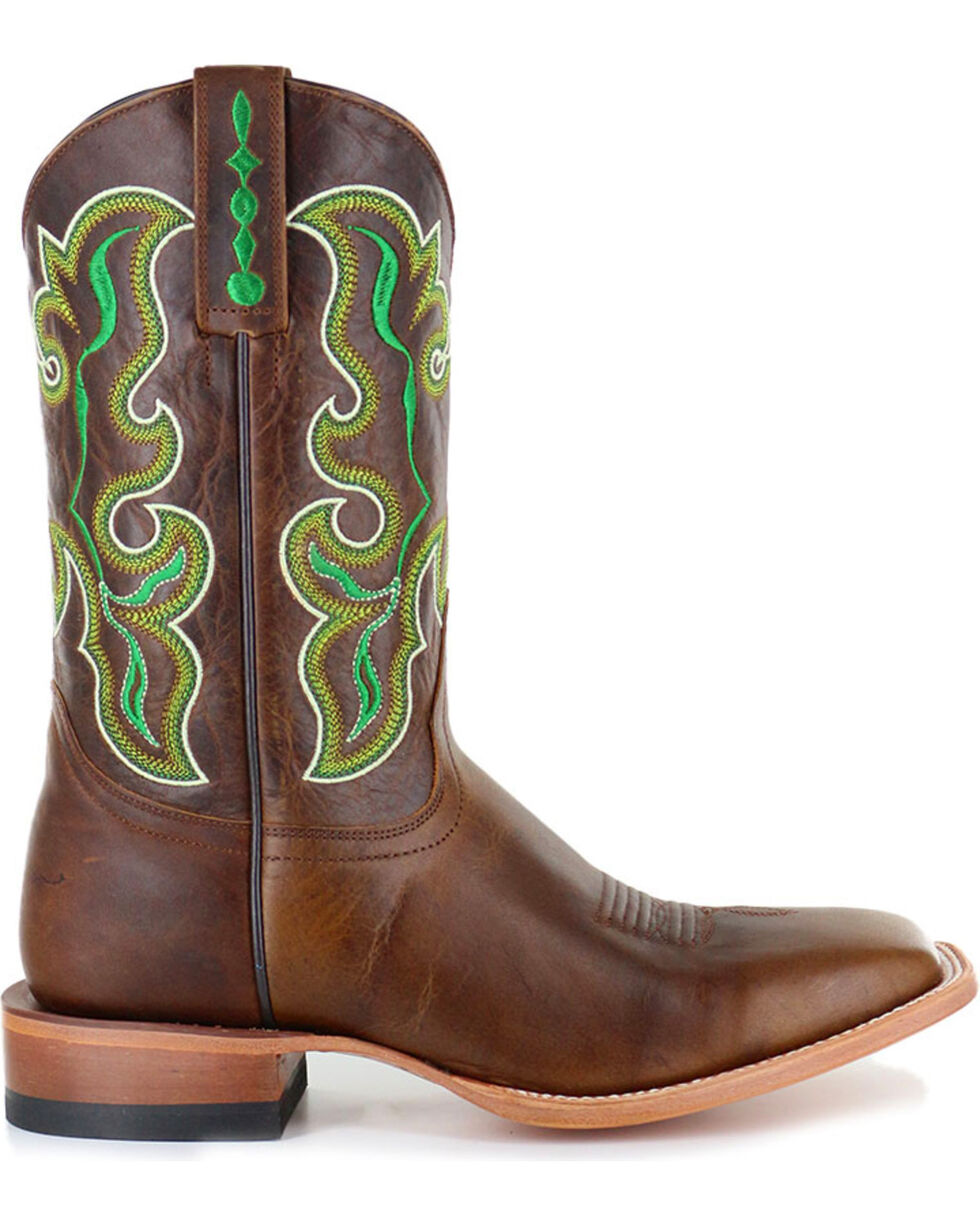 Cody James® Men's Damiano Embroidered Western Boots, Brown, hi-res