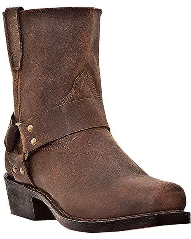 Dingo Men's Rev Up Harness Motorcycle Boots, Gaucho, hi-res