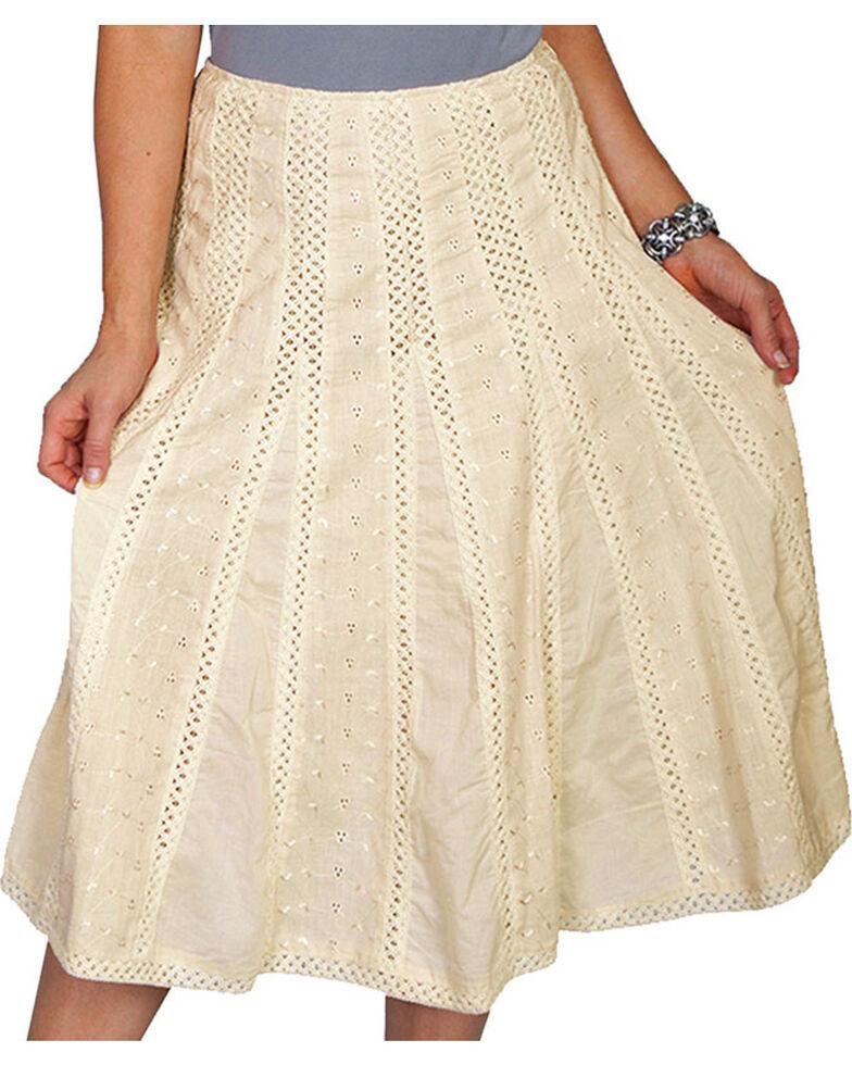 Scully Women's Crochet Midi Skirt, Ivory, hi-res