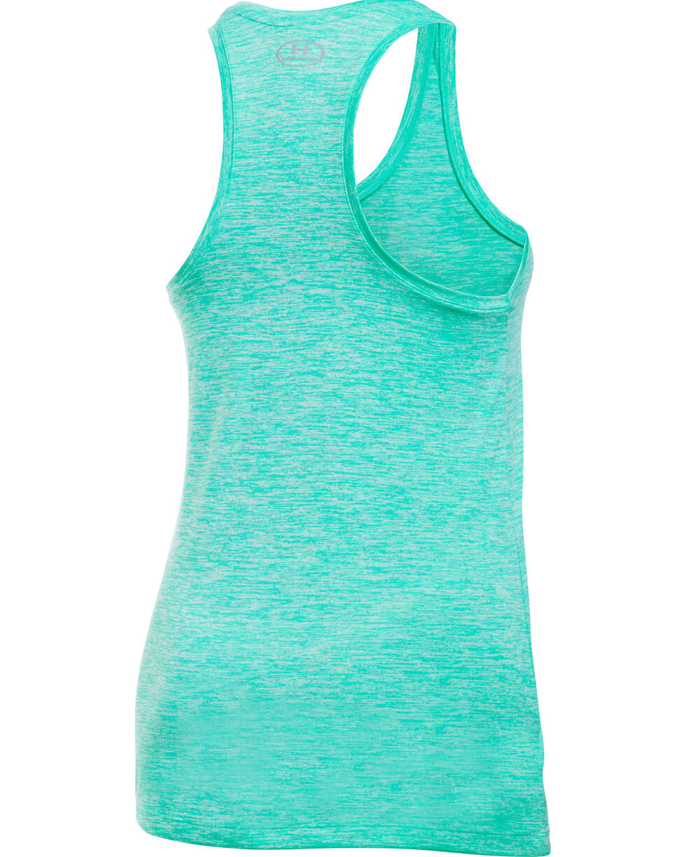Under Armour Women's Light Green Tech™ Twist Tank Top, Lt Green, hi-res