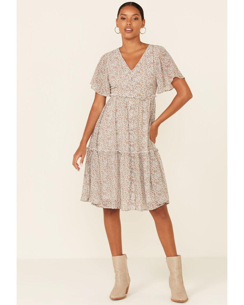 Mikarose Women's Summer Fields Clementine Dress, Multi, hi-res