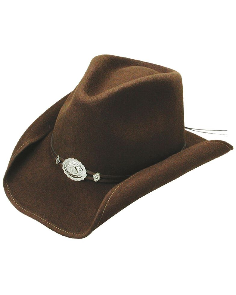 Stetson Hollywood Drive Shapeable Wool Hat, Brown, hi-res