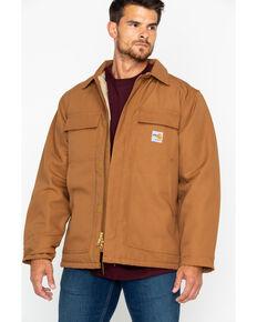 Carhartt Flame-Resistant Duck Traditional Coat, Carhartt Brown, hi-res