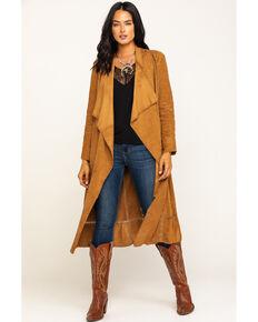 Idyllwind Women's Drifter Suede Jacket, Camel, hi-res