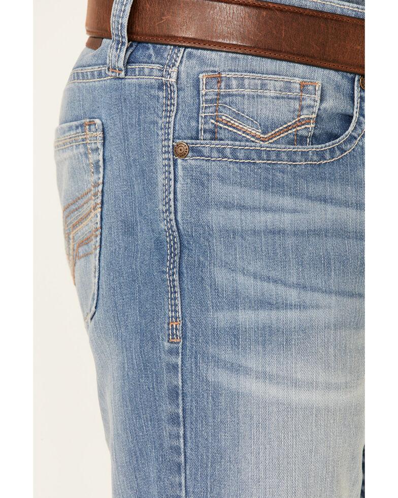 Cody James Men's Blue Whistler Med Stretch Slim Bootcut Jeans , Blue, hi-res