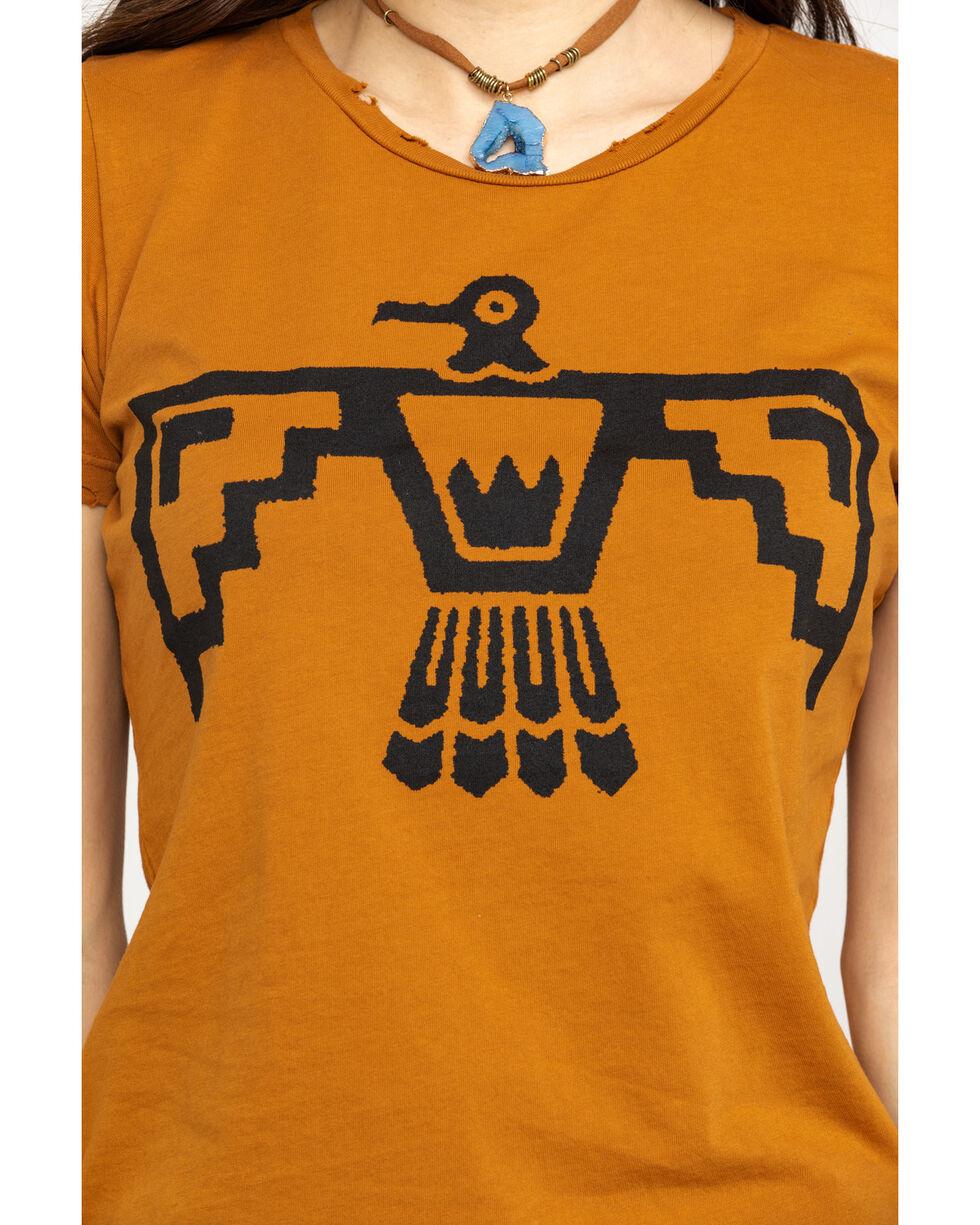 Bandit Women's Cognac Thunderbird Graphic Tee, Cognac, hi-res