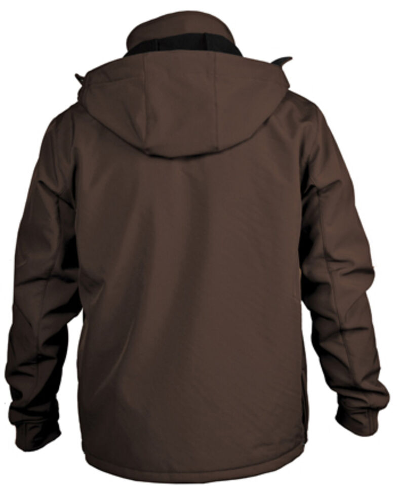 STS Ranchwear Boys' Brown Youth Barrier Softshell Jacket , Brown, hi-res