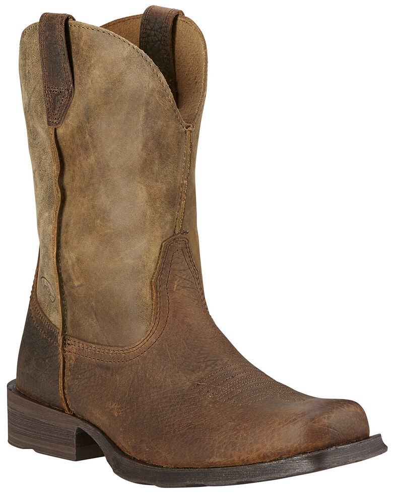 """Ariat Men's Rambler 11"""" Western Boots, Earth, hi-res"""