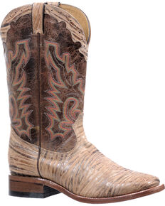 Boulet Oak Tan Puma Madera Boots - Square Toe, Tan, hi-res