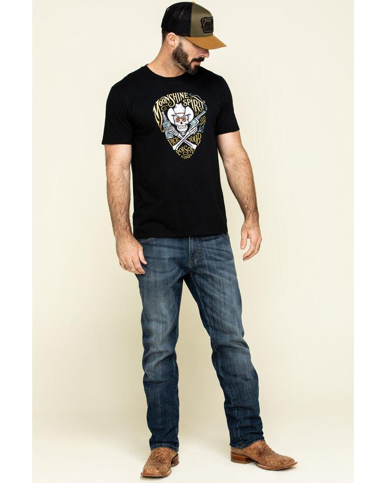 Moonshine Spirit Men's Pick Your Poison Graphic Short Sleeve T-Shirt , Black, hi-res
